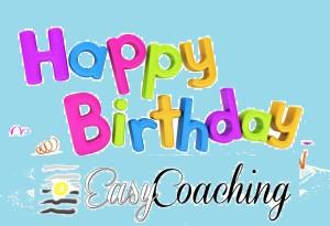 happy birthday Easy Coaching